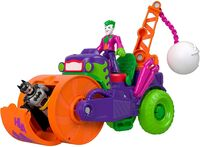 Imaginext Dc Super Friends - Fisher Price - Imaginext DC Super Friends: The Joker Steamroller