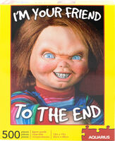 Chucky I'm Your Friend to the End 500 PC Puzzle - Chucky I'm Your Friend To The End 500 Pc Puzzle