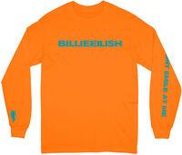Billie Eilish - Billie Eilish Don't Smile Unisex Long Sleeve T-Shirt Large