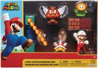 Jakks Pacific - Jakks Pacific - Nintendo 2-1/2 Lava Castle Diorama Set CS (Net)