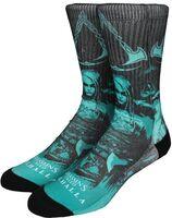 Assassin's Creed Valhalla Crew Socks Size 8-12 - Assassin's Creed Valhalla Sublimated Crew Socks Men's Shoe Size 8-12