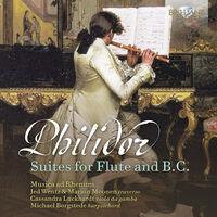Philidor / Musica Ad Rhenum - Suites For Flute & B.C. (2pk)