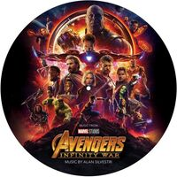Marvel's The Avengers [Movie] - Avengers: Infinity War [Import Picture Disc LP Soundtrack]