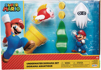 Jakks Pacific - Jakks Pacific - Nintendo 2-1/2 Underwater Diorama Set CS (Net)
