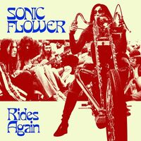 Sonic Flower - Rides Again [Colored Vinyl] (Red)