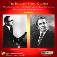 SCHUBERT/BRAHMS - Great Performances from the Library of Congress 21