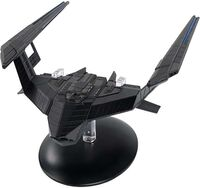 Star Trek: Discovery [TV Series] - Eaglemoss Hero Collector - Star Trek Discovery Series - Star TrekDiscovery 22 - Stealth Ship.