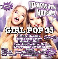 Party Tyme Karaoke Girl Pop 35 / Various - Party Tyme Karaoke: Girl Pop 35 / Various