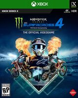 Xbx Monster Energy Supercross 4 - Monster Energy Supercross 4 for Xbox Series X