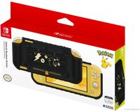 Hori Swi Lite System Armor - Pikachu Black & Gold - HORI Hybrid System Armor (Pikachu Black & Gold) for Nintendo Switch Lite