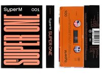 SuperM - SuperM The 1st Album 'Super One' [Limited Edition Orange Cassette]