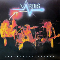 Vardis - World's Insane (Dlx) (Reis)