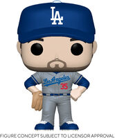 Funko Pop! MLB: - FUNKO POP! MLB: Dodgers- Cody Bellinger (Road Uniform)