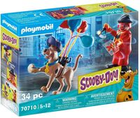 Playmobil - Scooby Doo Adventure With Ghost Clown (Fig)