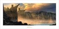 Other - Lord Of The Rings - Pillars Of The Kings Art Print