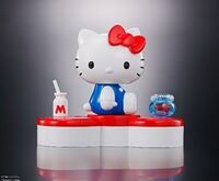 Tamashii Nations - HELLO KITTY (45TH Anniversary), Bandai Chogokin