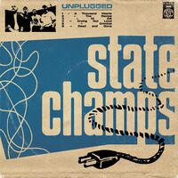 State Champs - Unplugged EP [Indie Exclusive Limited Edition Sea Blue Milky Clear w Heavy Aqua Splatter Vinyl]