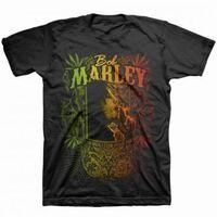 Bob Marley - Bob Marley Kaya Now Jumbo Black Unisex Short Sleeve T-shirt XL