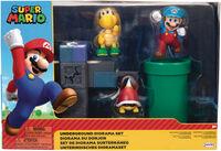 Jakks Pacific - Jakks Pacific - Nintendo 2-1/2 Underground Diorama Set CS (Net)