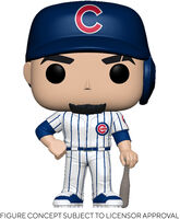 Funko Pop! MLB: - FUNKO POP! MLB: Cubs- Javier Baez (Home Uniform)