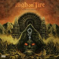 High On Fire - Luminiferous (Opaque Olive Green) [Colored Vinyl] (Gate)