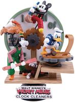 Px Exclusive - Disney DS-046 Clock Cleaners D-Stage Ser PX 6In Statue