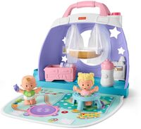 Little People - Fisher Price - Little People Taking Care of Baby: Cuddle & Play Baby's Room Playset