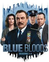 Blue Bloods: Seasons 1-4 - Blue Bloods: Seasons 1-4 (24pc) / (Box Ac3 Dub Ws)