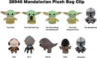 Star Wars: Mandalorian Plush Bag Clip in Blind Bag - Star Wars: Mandalorian - Plush Bag Clip in Blind Bag (SINGLE) (One Random Bag Clip Per Purchase)