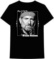 Willie Nelson Always on My Mind Black Ss Tee Xl - Willie Nelson Always On My Mind Black Unisex Short Sleeve T-shirt XL