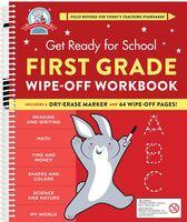 Heather Stella - Get Ready For School First Grade Wipe Off Workbook