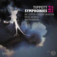 Bbc Symphony Orchestra / Martyn Brabbins - Tippett: Symphonies Nos.3, 4 & B Flat