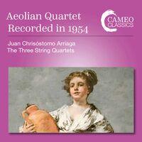Arriaga / Aeolian Quartet - Three String Quartets