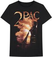 2pac - 2Pac Me Against The World Black Unisex Short Sleeve T-Shirt Medium