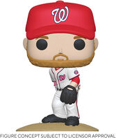 Funko Pop! MLB: - FUNKO POP! MLB: Nationals- Stephen Strasburg (Home Uniform)