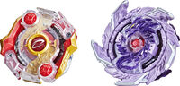 Bey Sps Kolossal Fafnir F6 and Odax O6 - Hasbro Collectibles - Beyblade Sps Kolossal Fafnir F6 And Odax O6