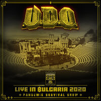 U.D.O. - Live in Bulgaria 2020 - Pandemic Survival Show (DVD & 2 CD)