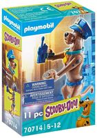 Playmobil - Scooby Doo Collectible Police Figure (Fig)