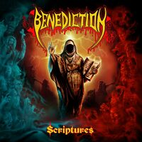Benediction - Scriptures (Red/Black Swirl) (Blk) (Red)