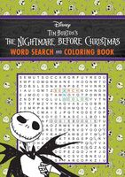 Editors of Thunder Bay Press - The Nightmare Before Christmas Word Search and Coloring Book