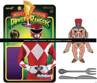 Mighty Morphin' Power Rangers Wave 1 - Pudgy Pig - Super7 - Mighty Morphin' Power Rangers ReAction Figure Wave 1 - Pudgy Pig