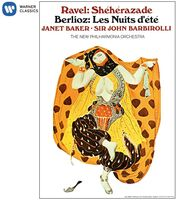 Janet Baker / Barbirolli,John - Berlioz: Les Nuits D'ete - Ravel: Sheherazade