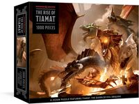 Official Dungeons & Dragons - The Rise of Tiamat Dragon Puzzle: 1000-Piece Jigsaw Puzzle Featuringthe Queen of Evil Dragons: Jigsaw Puzzles for Adults (Dungeo