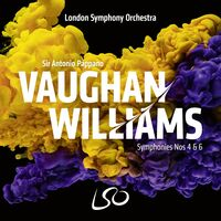 Lso / Antonio Pappano - Vaughan Williams: Syms Nos. 4 & 6