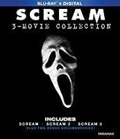 Scream: 3-Movie Collection Blu-Ray + Digital