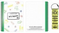 NCT Dream - NCT Life : Dream In Wonderland Commentary Book + Luggage Tag Set[Chenle]