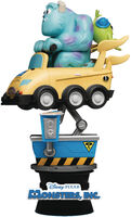 Beast Kingdom - Beast Kingdom - Coin Ride DS-037 Monsters Inc D-Stage Series 6 Statue