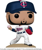 Funko Pop! MLB: - FUNKO POP! MLB: Twins- Jose Berrios (Home Uniform)