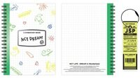 NCT Dream - NCT Life : Dream In Wonderland Commentary Book + Luggage Tag Set[Jisung]