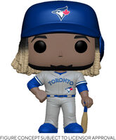 Funko Pop! MLB: - FUNKO POP! MLB: Blue Jays- Vladimir Guerrero Jr. (Road Uniform)